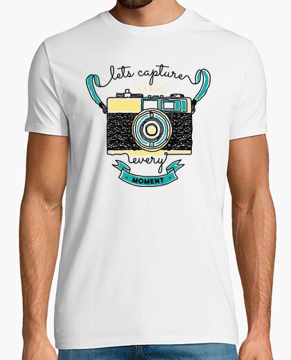 Tee-shirt permet de capturer chaque moment