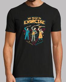 permite exorcise la camisa para hombre