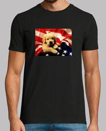 Perrito bandera