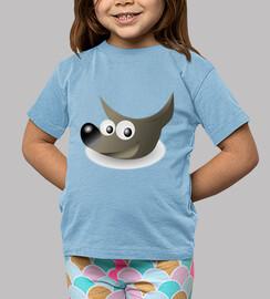 Perrito Wilber, mascota de GIMP