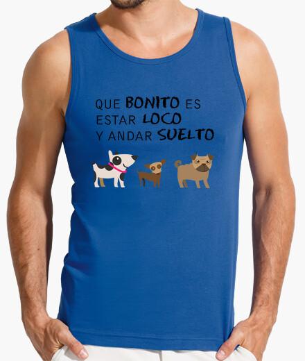 Camiseta Perritos hombre