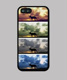 Perro - iPhone 5 / 5s, negra