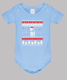 Perro Airedale Terrier Ugly Navidad