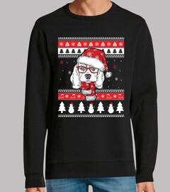 Perro Beagle Ugly Navidad