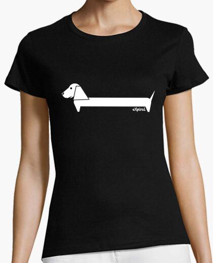 Camiseta PERRO BLANCO