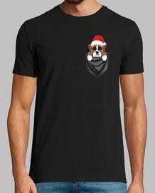 Perro Boxer Pocket Graphic Navidad
