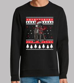 Perro Cane Corso Ugly Navidad