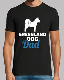 perro de Groenlandia papá