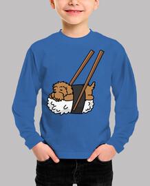 Perro Goldendoodle Sushi
