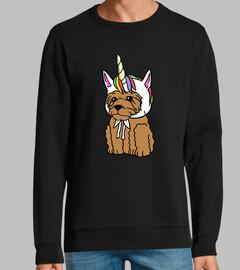 Perro Goldendoodle Unicornio