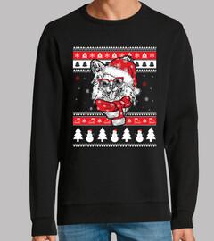 Perro Papillón Ugly Navidad