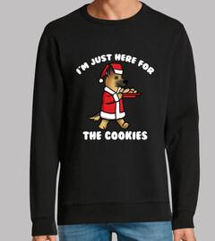 Perro Pastor Alemán Cookies Navidad