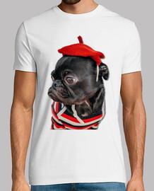 Perro Pug Carlino con Sombrero
