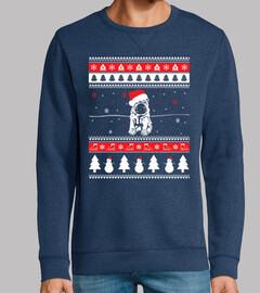 Perro Shar Pei Ugly Navidad