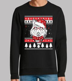 Perro Shetland Sheepdog Ugly Navidad