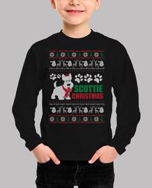 Perro Terrier Escocés Ugly Navidad