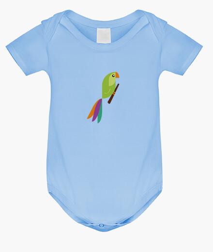 Vêtements enfant perroquet
