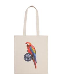 Perroquet - Vivre en couleurs