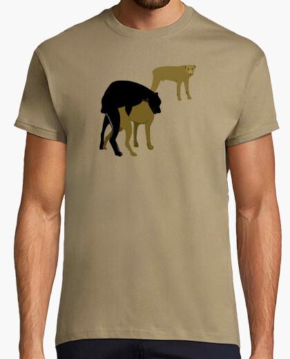Camiseta Perros follando
