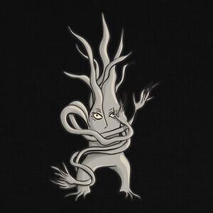 personaje de árbol espeluznante enredad T-shirts