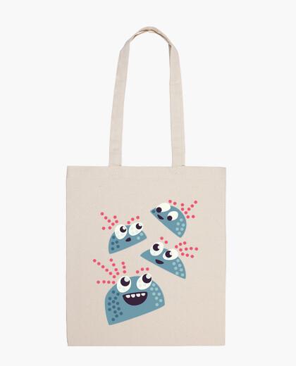 Bolsa personajes de caramelo feliz lindo del kawaii