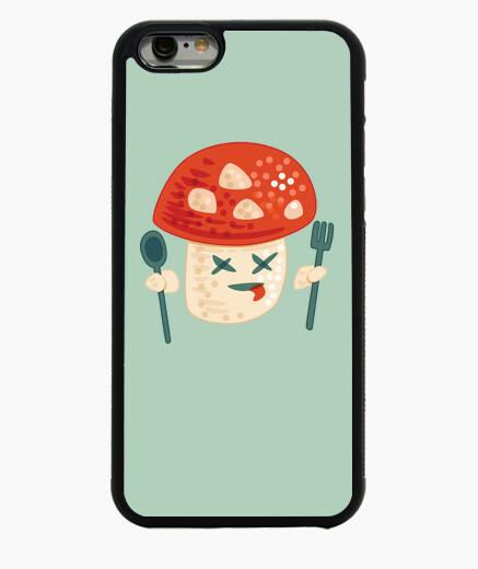 Coque Iphone 6 / 6S personnage champignon empoisonné drôle