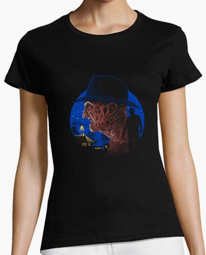 Camiseta pesadilla de la muerte camisa para mujer