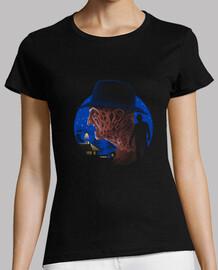 pesadilla de la muerte camisa para mujer