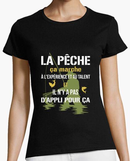 Camiseta pesca - no hay aplicación para eso