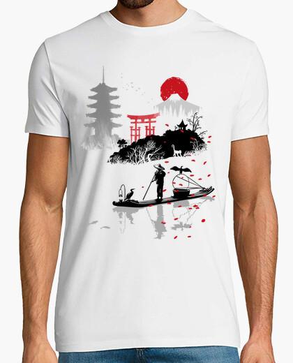 Camiseta Pescador asiatico