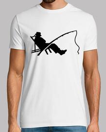 pescatore dell'asta di sonno