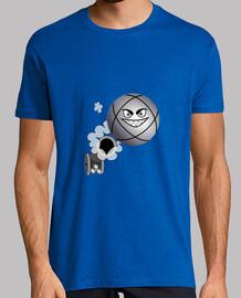petanca tirador camiseta petanca