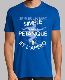 petanque - un ragazzo semplice