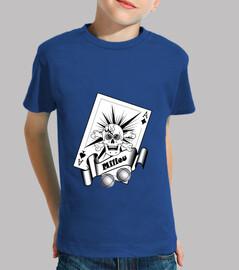 petanque shooter pointer child crane bone as