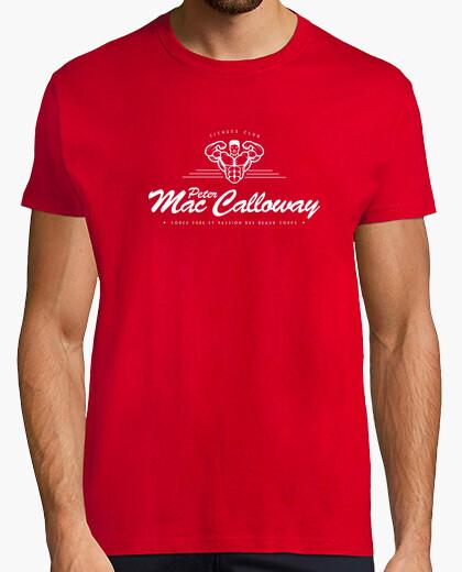 T-shirt peter calloway mac fitness club