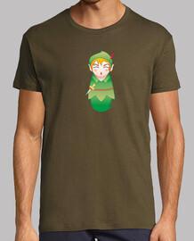 peter pan shirt guy kokeshi