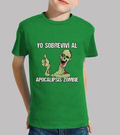 petit survivant t-shirt