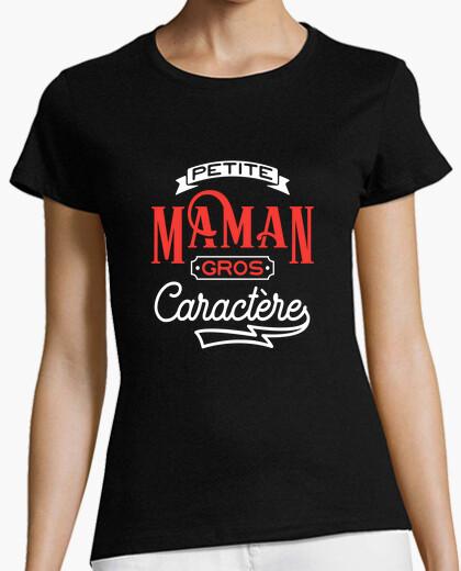 Tee-shirt Petite maman gros caractère cadeau