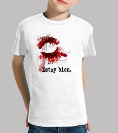 petite morsure de t-shirt