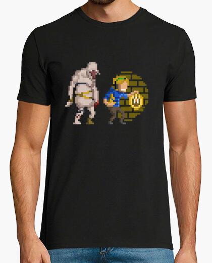 Tee-shirt pewdie pixel héros
