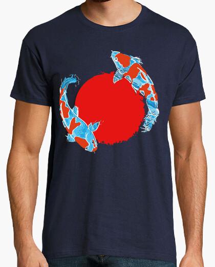 Camiseta Pez Koi Bandera