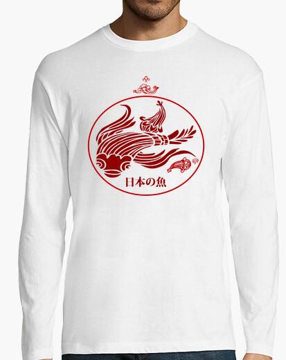 Camiseta PEZ ROJO JAPONÉS