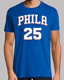 Philadelphia 76ers (pecho y espalda)