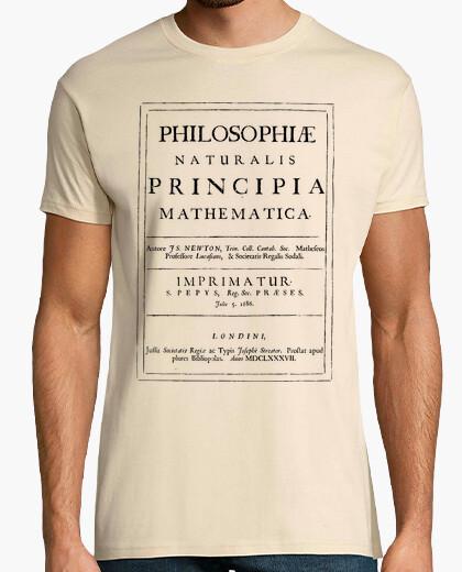 Camiseta Philosophiae naturalis principia mathema