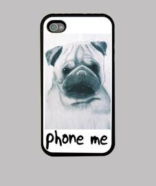 phone me, Funda iPhone 4, negra