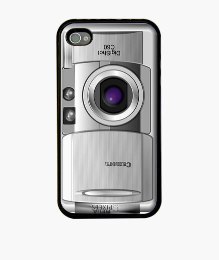 Coque iPhone photo caméra cas iphone4 / 4s