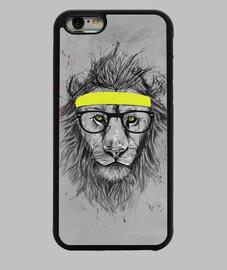 photo de lion hipster