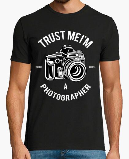 Tee-shirt photographe