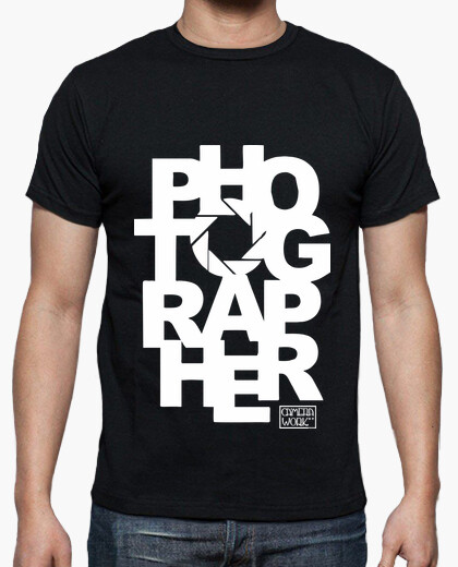 Camiseta Photographer Big Letters