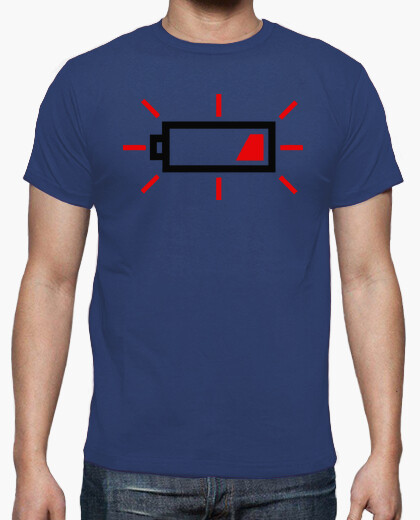 Camiseta Photography low Battery